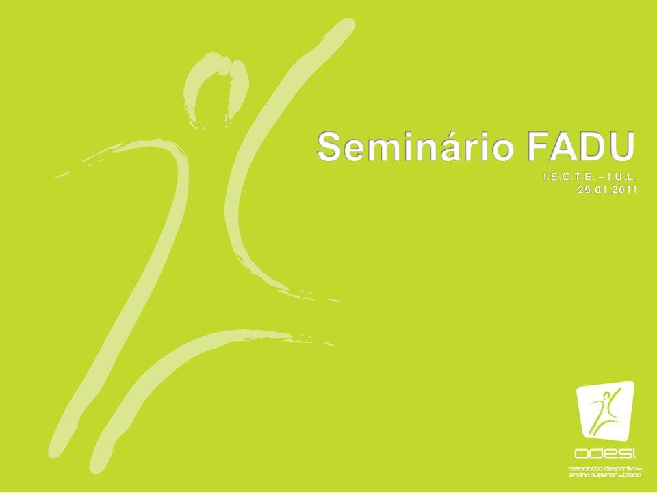 Seminário FADU I.S.C.T.E. – I.U.L. 29.01.2011