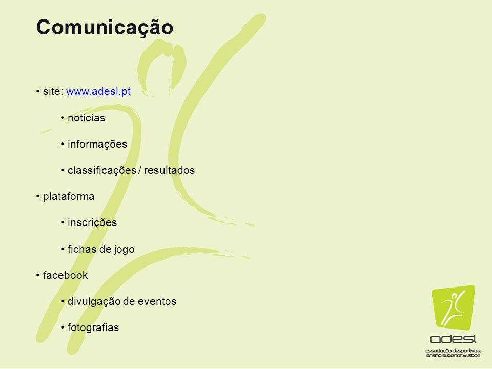Comunicação site: www.adesl.pt noticias informações
