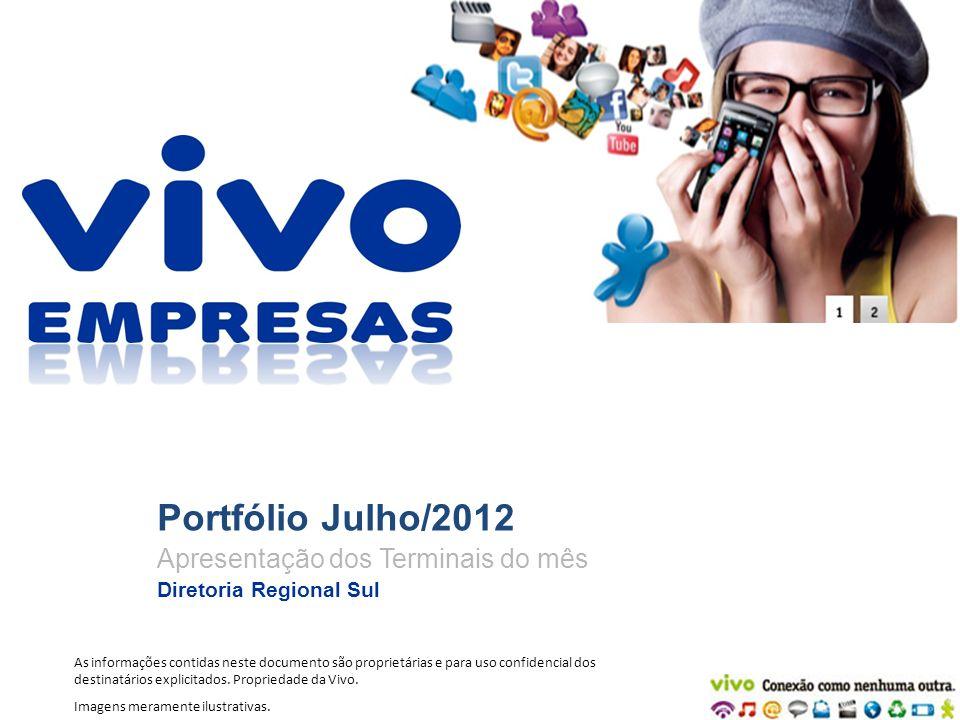 Portfólio Julho/2012 Apresentação dos Terminais do mês