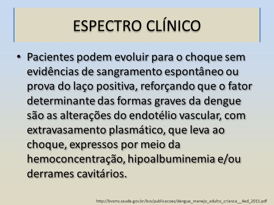 ESPECTRO CLÍNICO