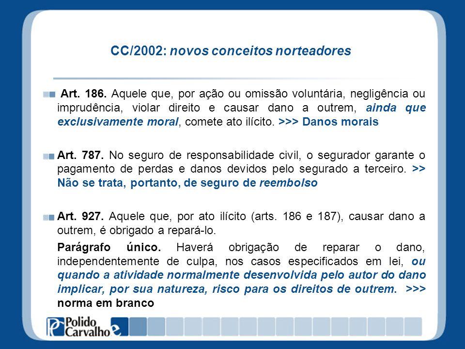 CC/2002: novos conceitos norteadores