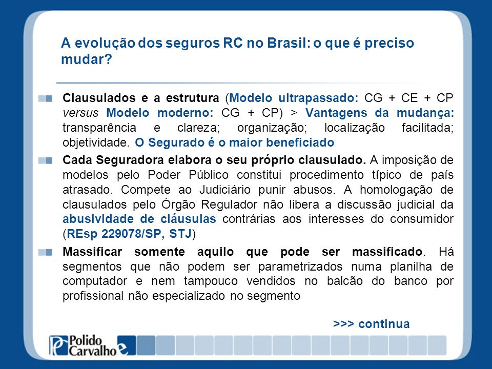 A evolução dos seguros RC no Brasil: o que é preciso mudar