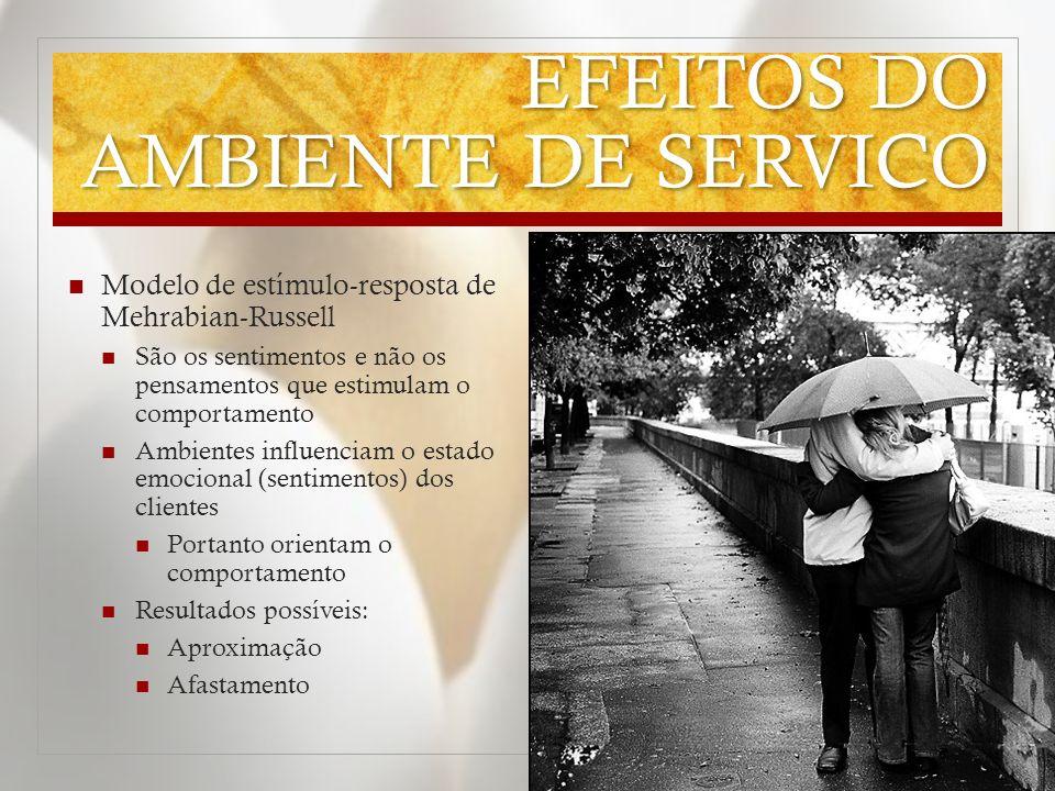 EFEITOS DO AMBIENTE DE SERVICO