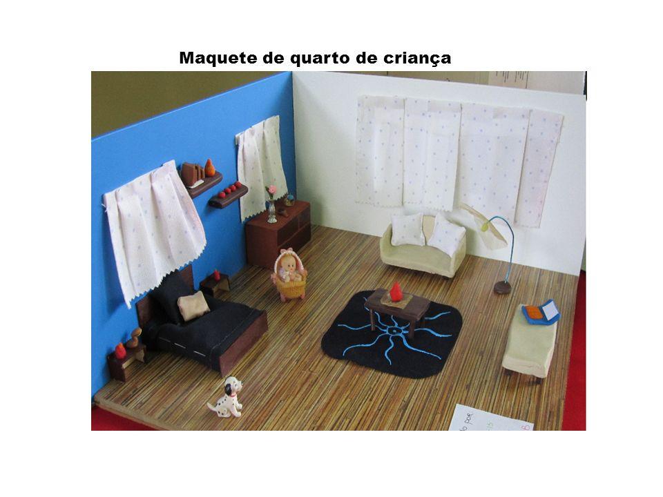 Maquete de quarto de criança