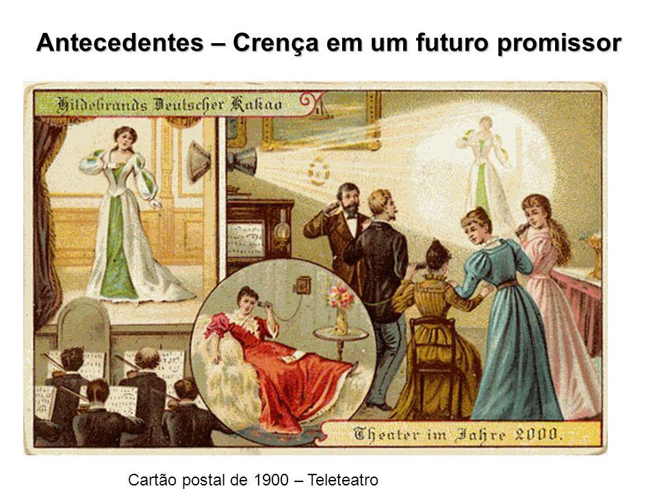 Antecedentes – Crença em um futuro promissor
