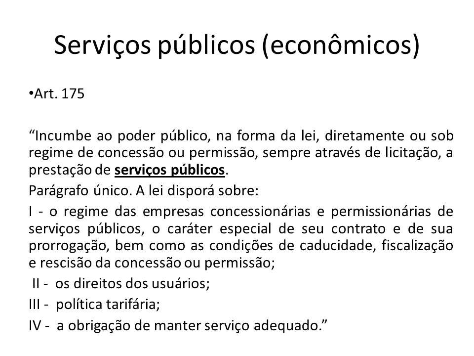 Serviços públicos (econômicos)