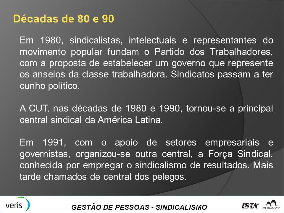 Décadas de 80 e 90