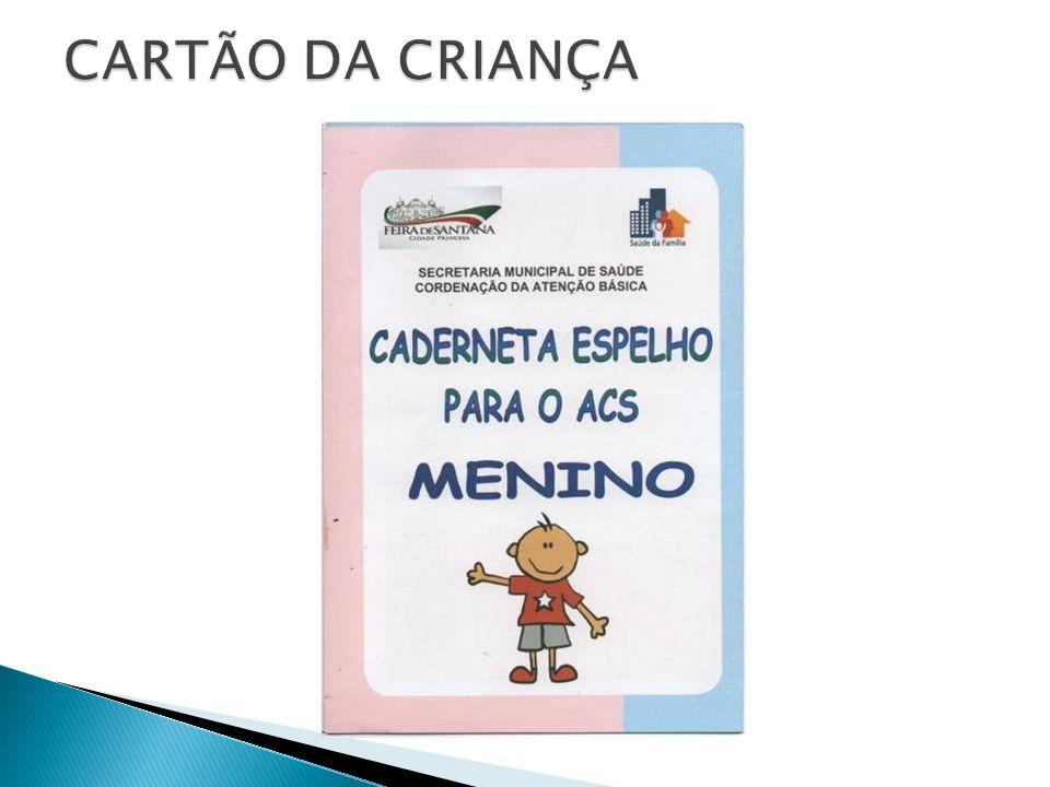 CARTÃO DA CRIANÇA