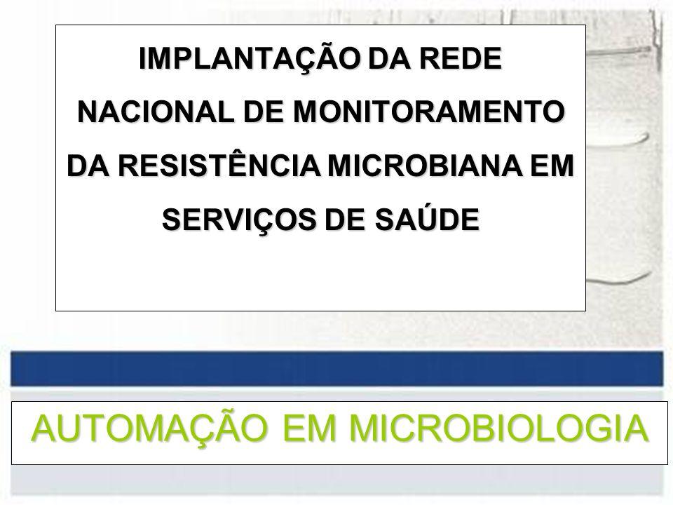 AUTOMAÇÃO EM MICROBIOLOGIA