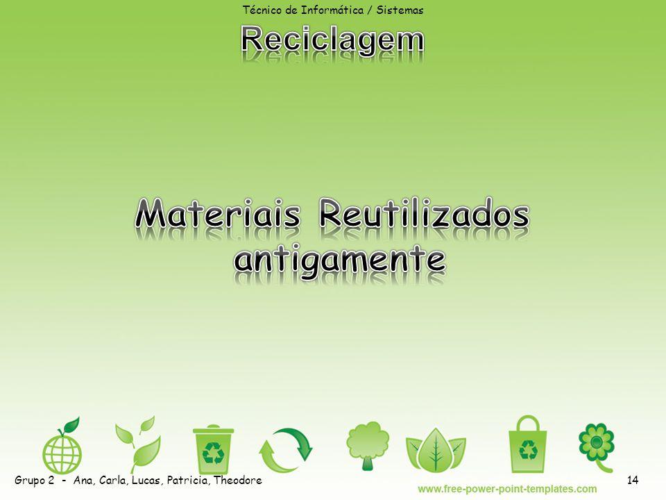 Materiais Reutilizados