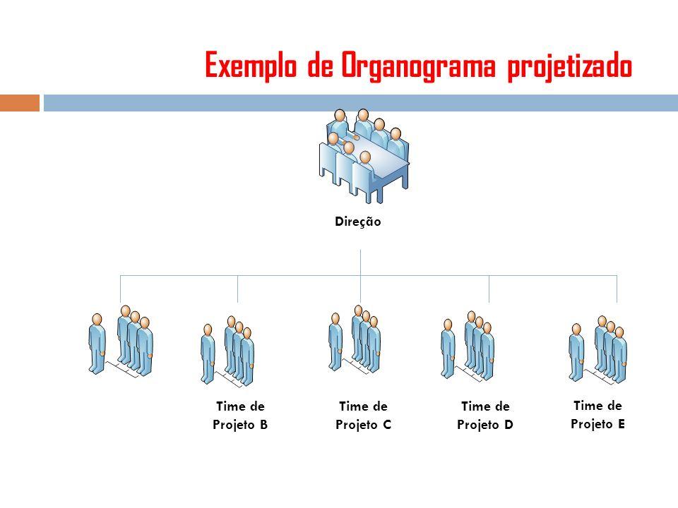 Exemplo de Organograma projetizado