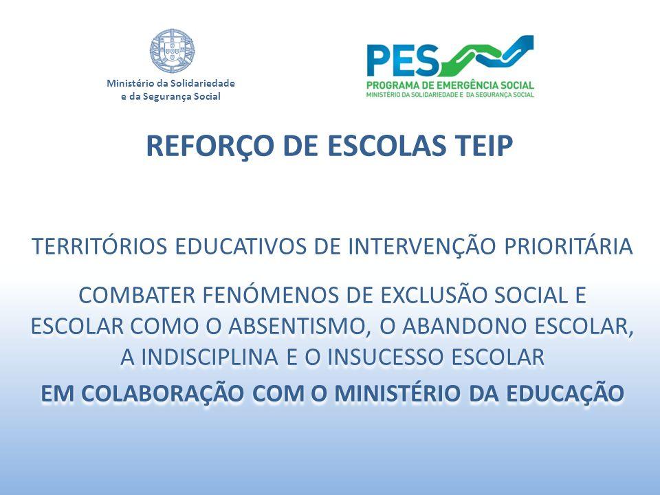 REFORÇO DE ESCOLAS TEIP