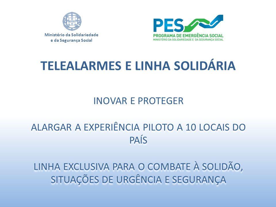TELEALARMES E LINHA SOLIDÁRIA