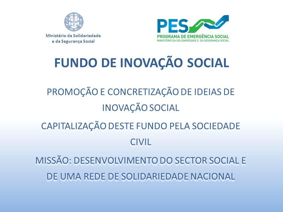 FUNDO DE INOVAÇÃO SOCIAL