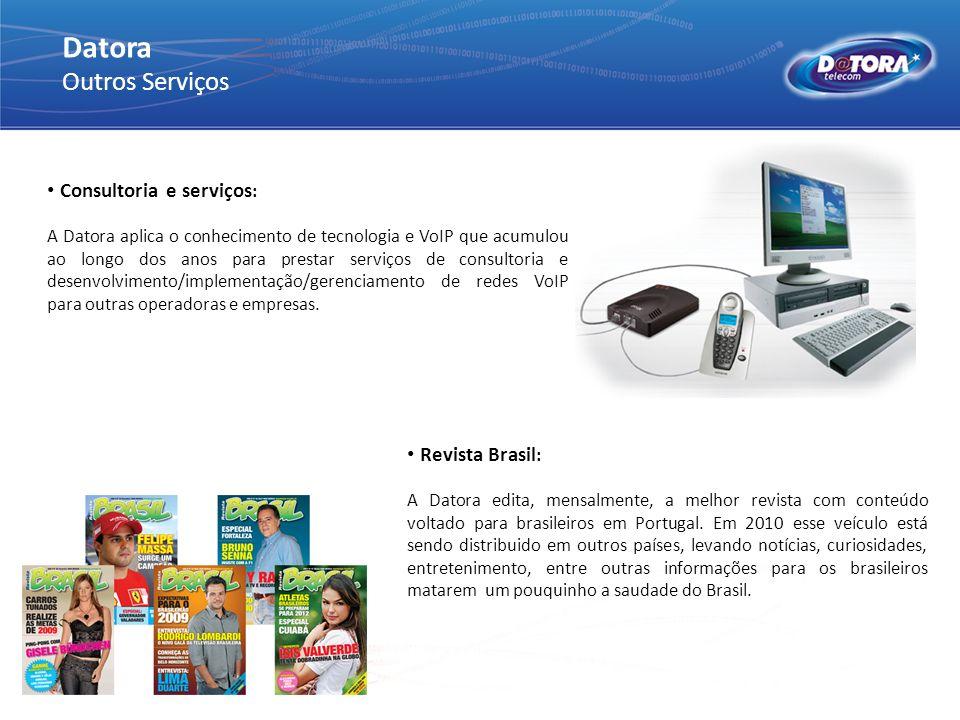 Datora Outros Serviços Consultoria e serviços: Revista Brasil:
