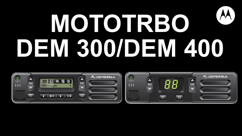 MOTOTRBO DEM 300/DEM 400