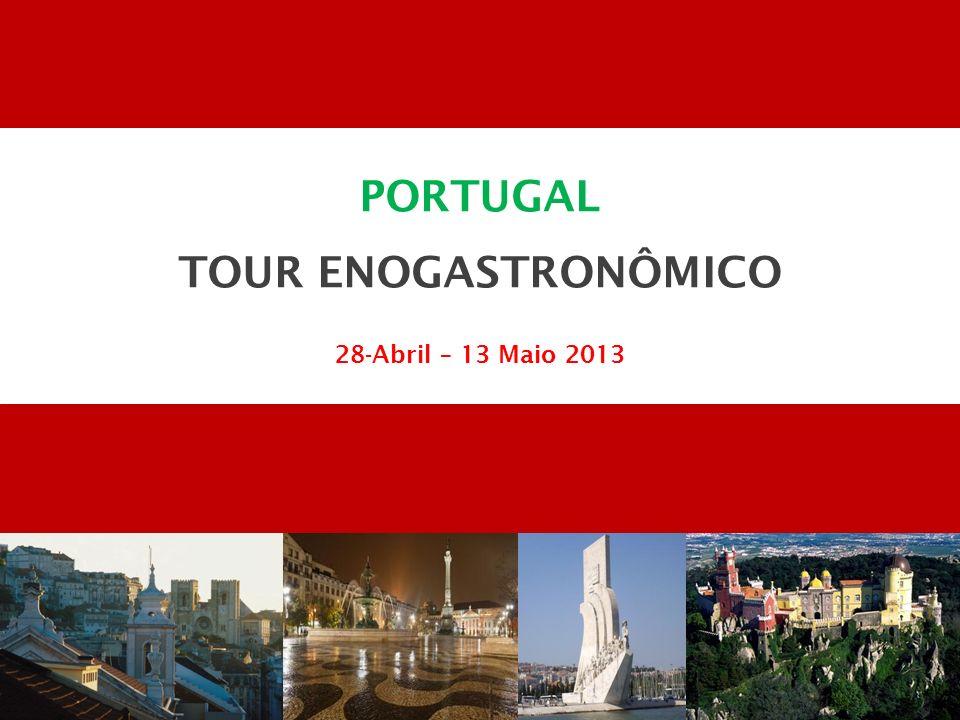 PORTUGAL TOUR ENOGASTRONÔMICO