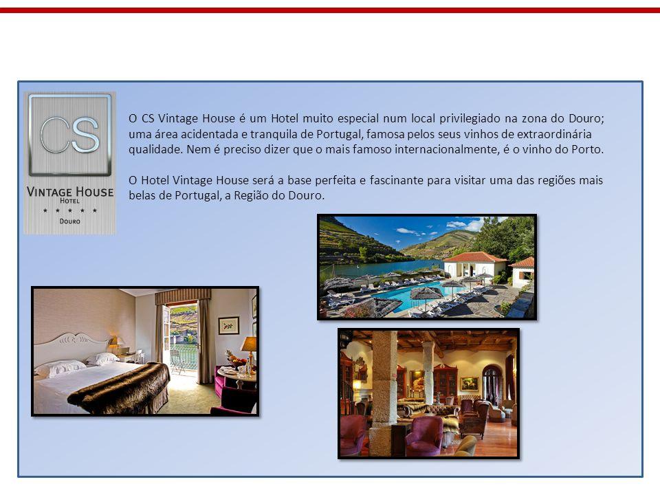 O CS Vintage House é um Hotel muito especial num local privilegiado na zona do Douro; uma área acidentada e tranquila de Portugal, famosa pelos seus vinhos de extraordinária
