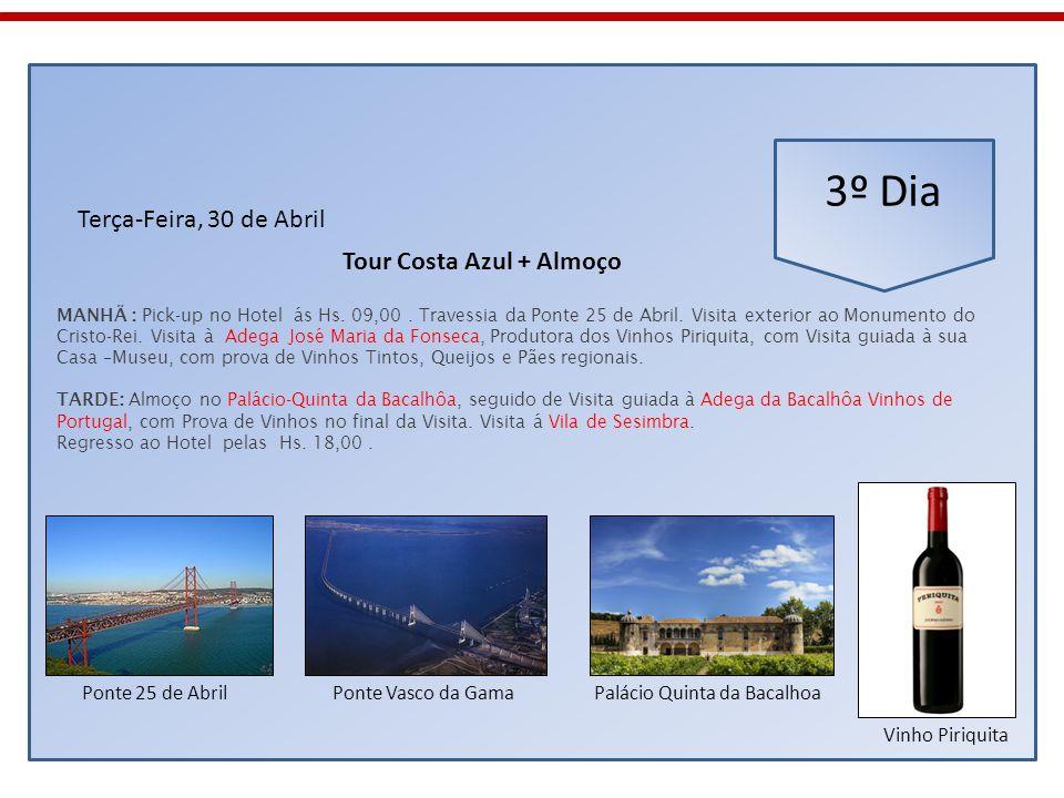 Tour Costa Azul + Almoço