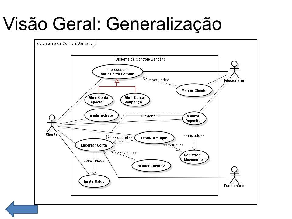 Visão Geral: Generalização