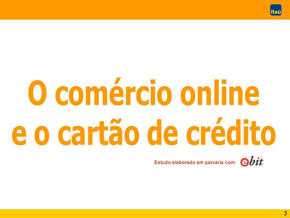 O comércio online e o cartão de crédito
