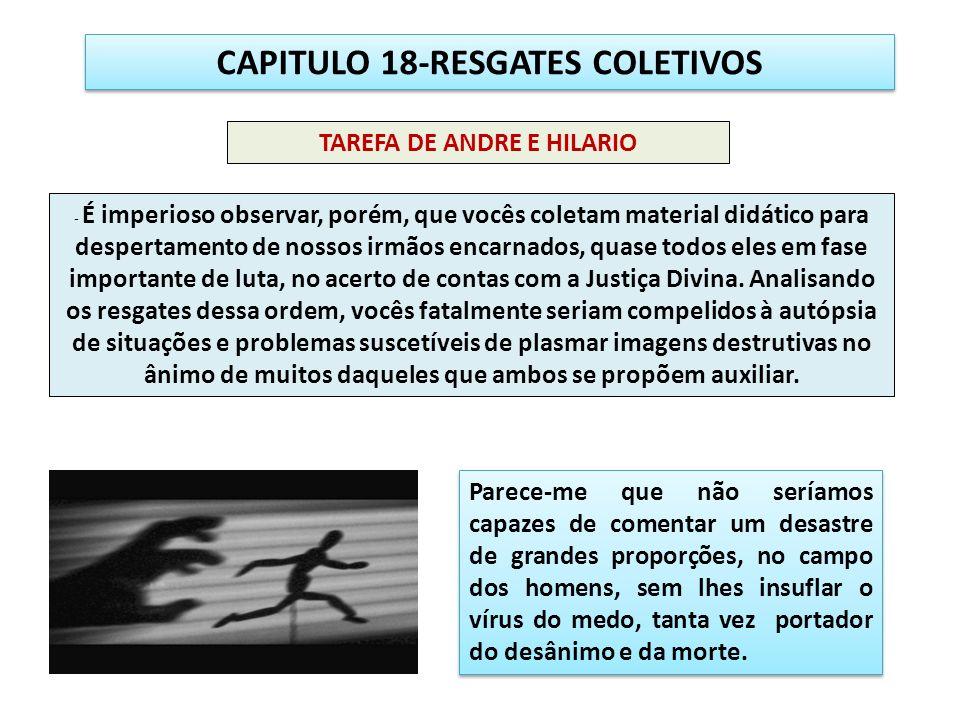 CAPITULO 18-RESGATES COLETIVOS TAREFA DE ANDRE E HILARIO
