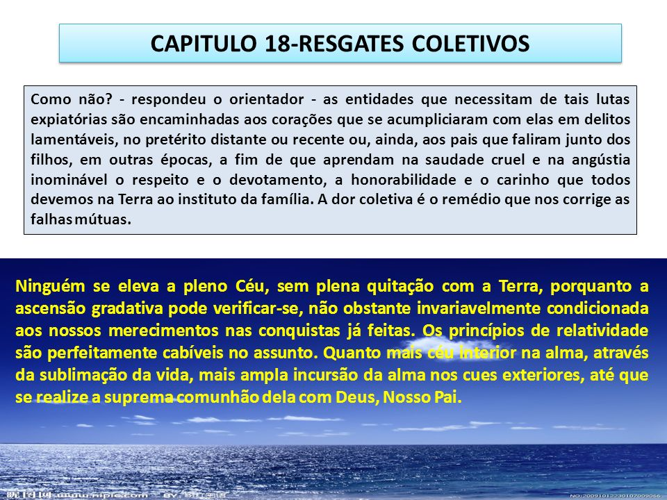 CAPITULO 18-RESGATES COLETIVOS