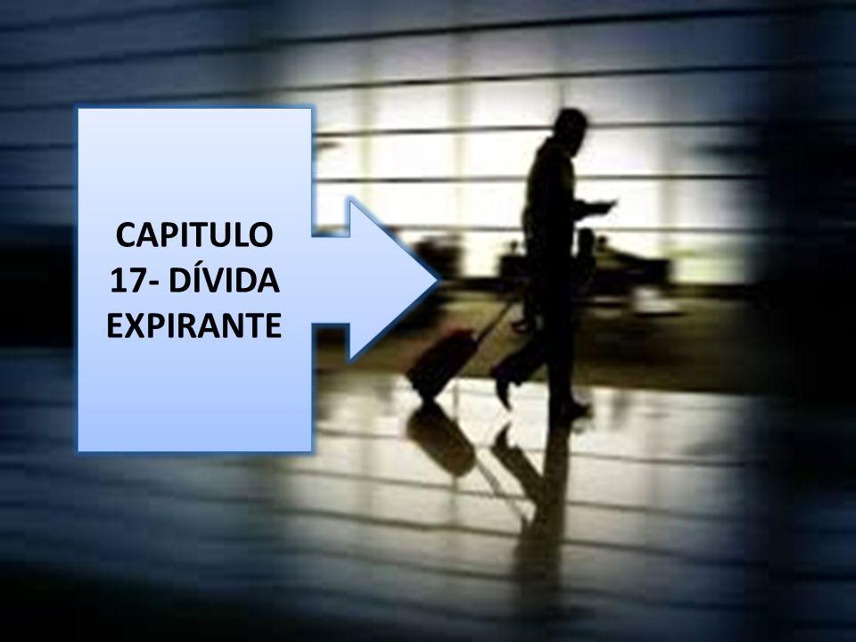 CAPITULO 17- DÍVIDA EXPIRANTE