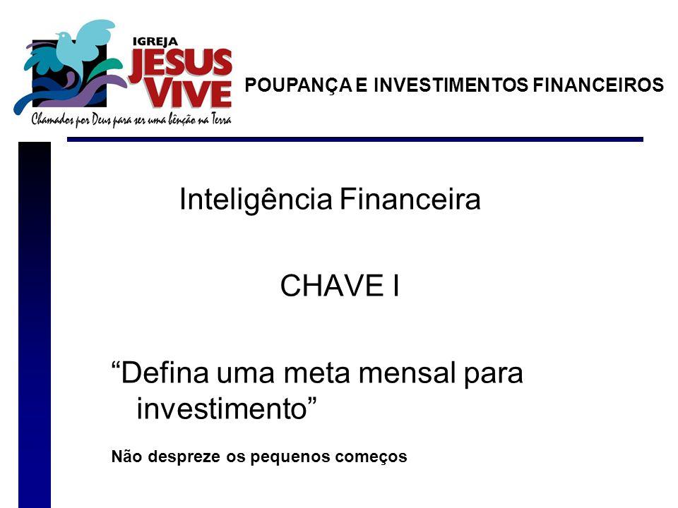 Inteligência Financeira CHAVE I
