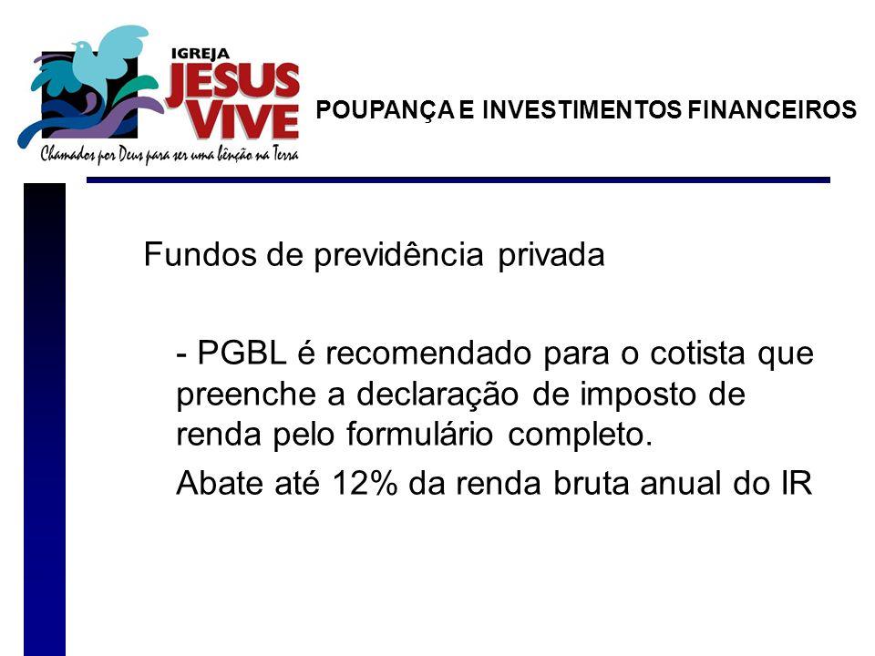 Fundos de previdência privada
