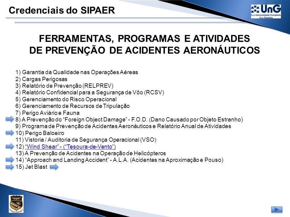 FERRAMENTAS, PROGRAMAS E ATIVIDADES