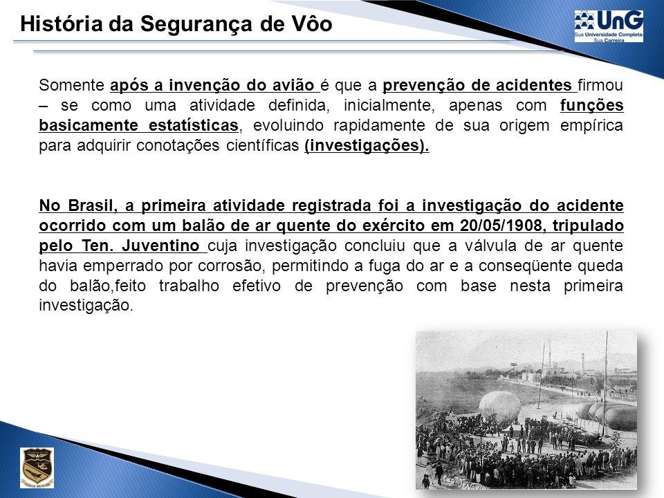 História da Segurança de Vôo
