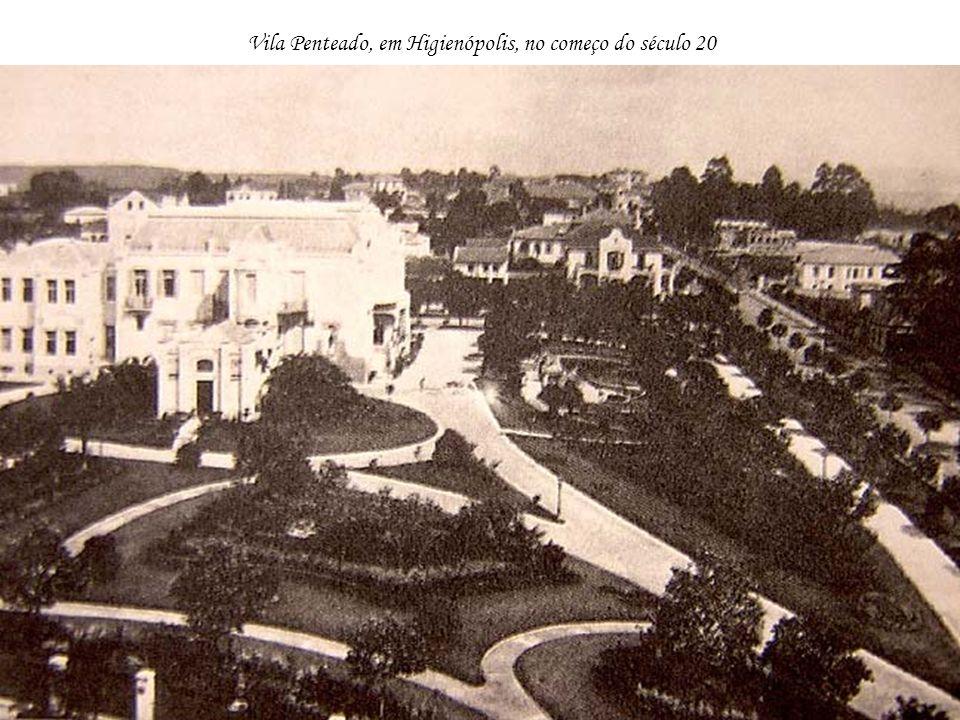 Vila Penteado, em Higienópolis, no começo do século 20