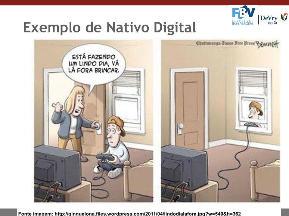 Exemplo de Nativo Digital