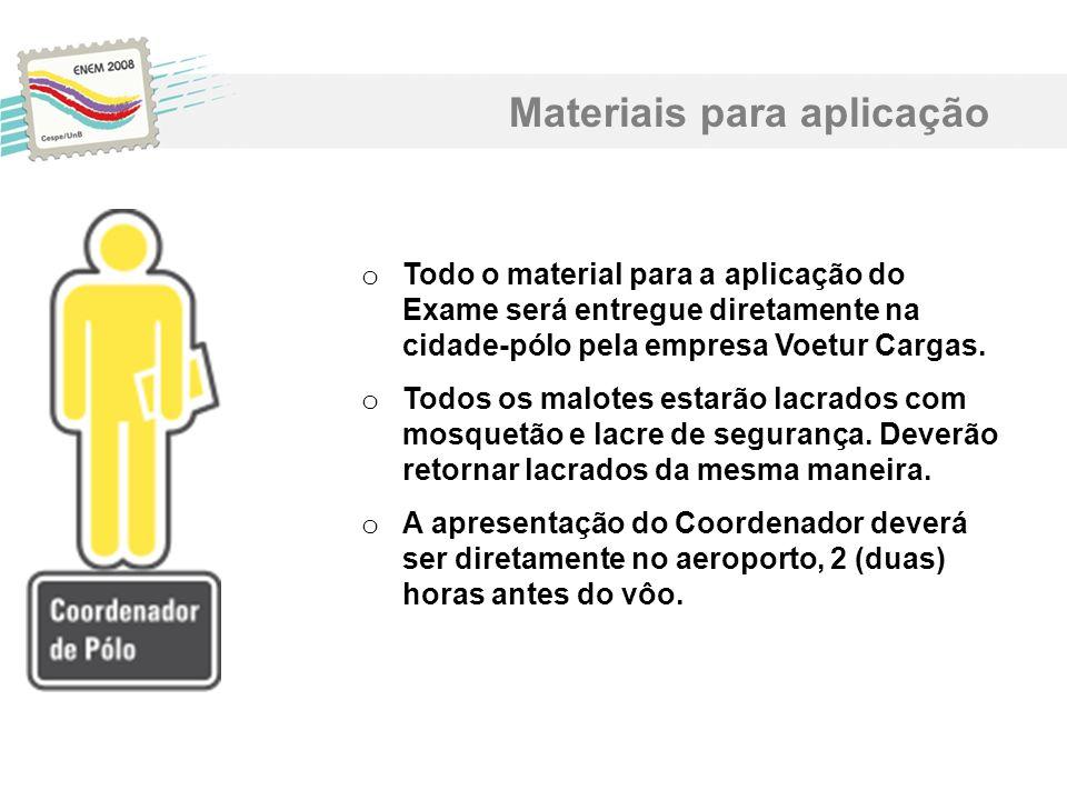 Materiais para aplicação