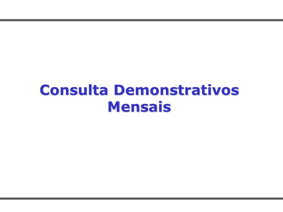 Consulta Demonstrativos Mensais