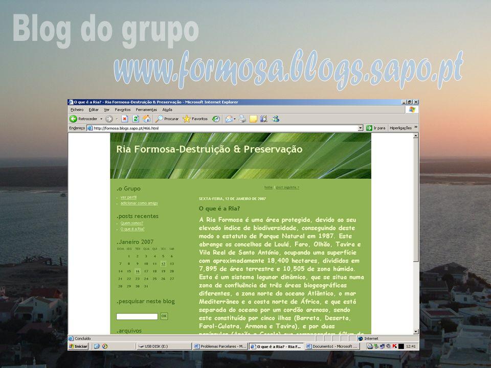 Blog do grupo www.formosa.blogs.sapo.pt