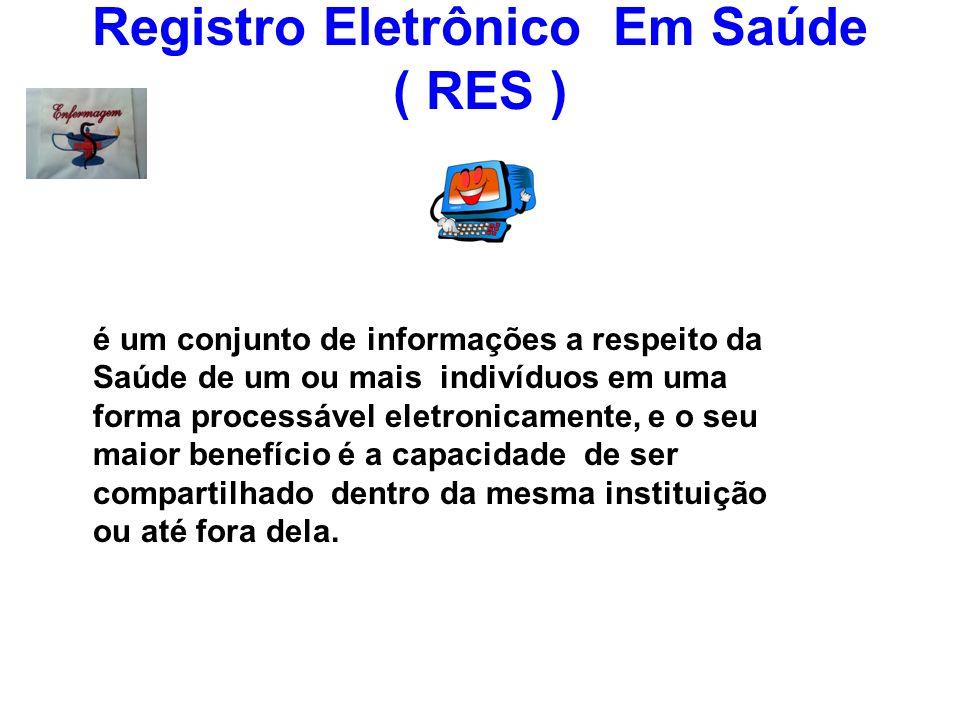 Registro Eletrônico Em Saúde ( RES )