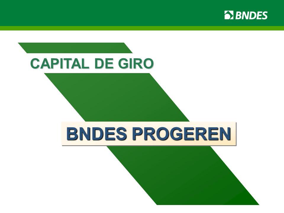 CAPITAL DE GIRO BNDES PROGEREN