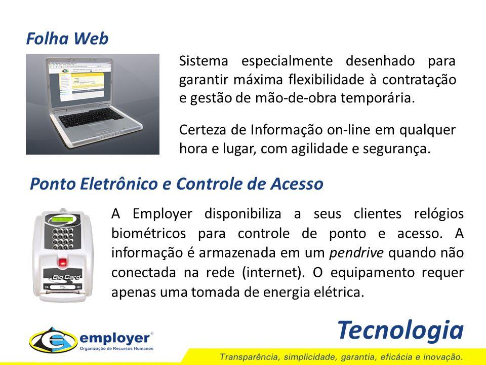 Tecnologia Folha Web Ponto Eletrônico e Controle de Acesso