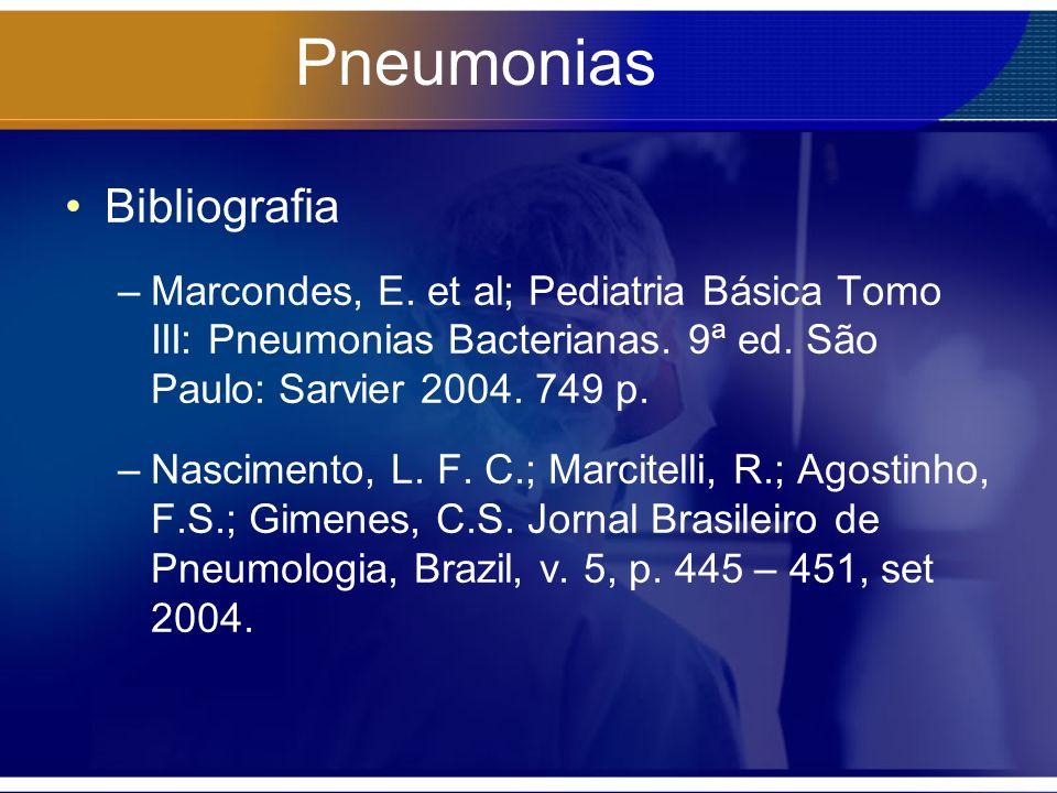 Pneumonias Bibliografia