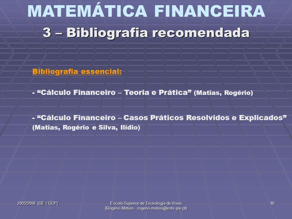 3 – Bibliografia recomendada
