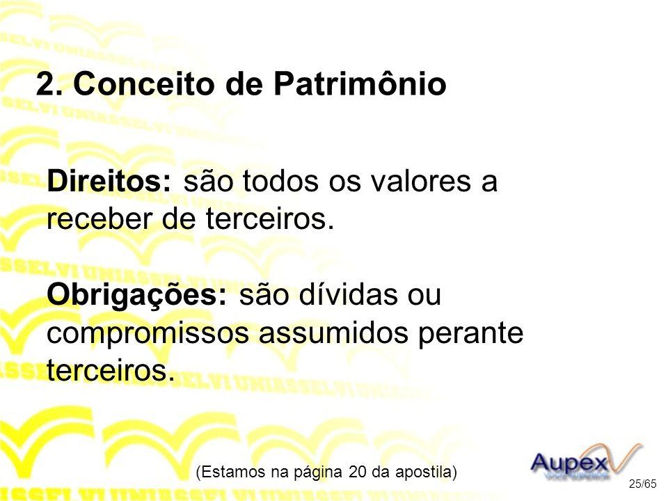 2. Conceito de Patrimônio