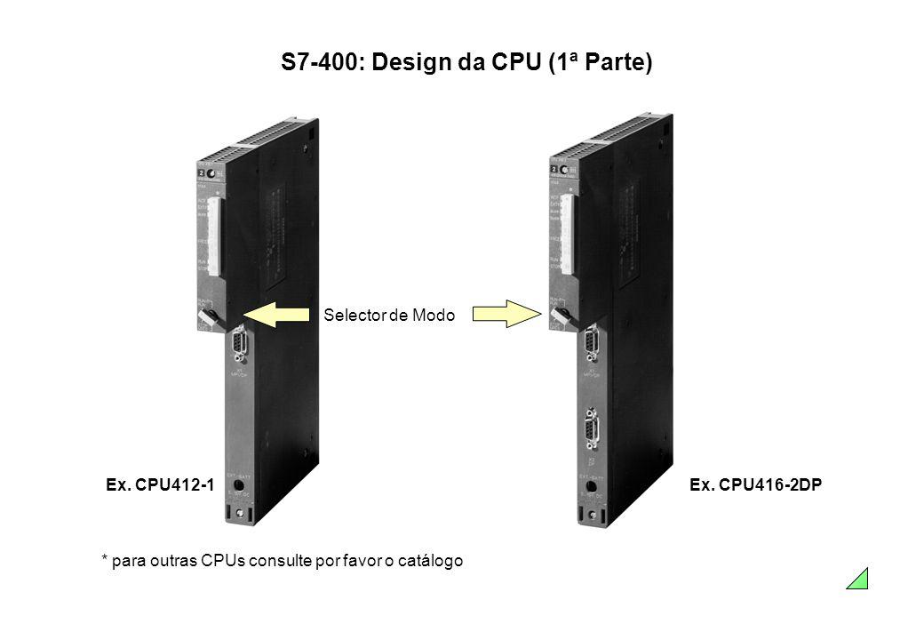 S7-400: Design da CPU (1ª Parte)