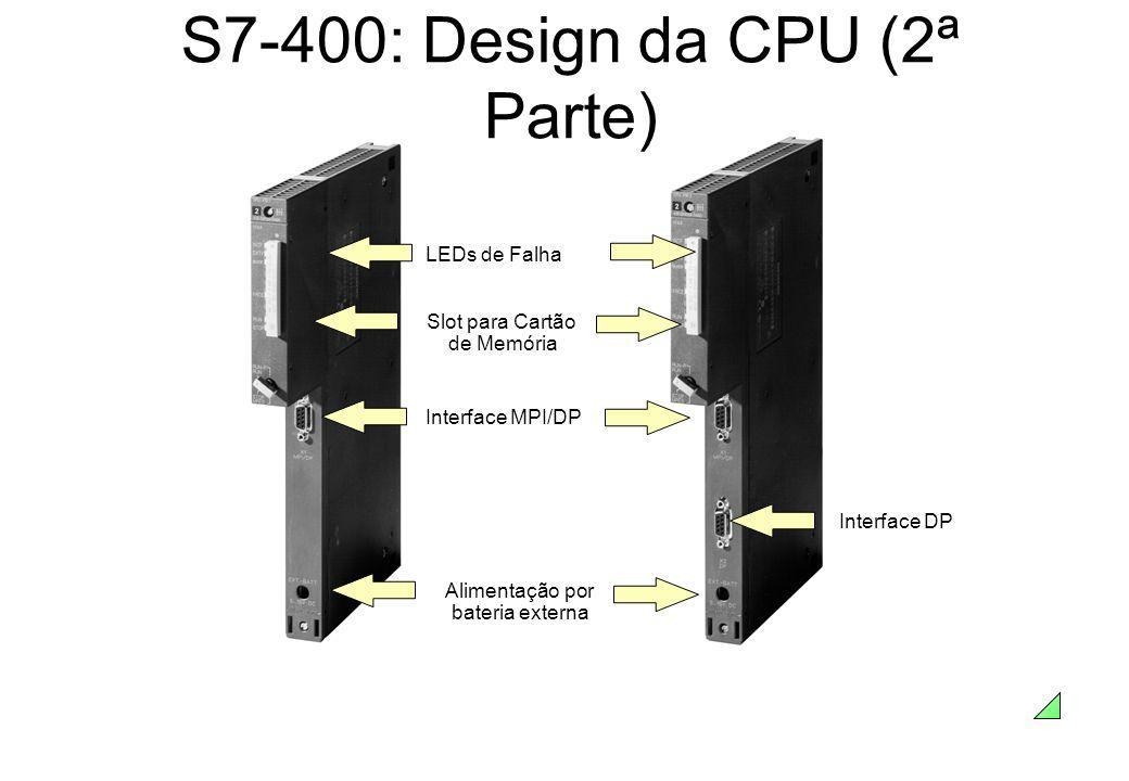 S7-400: Design da CPU (2ª Parte)