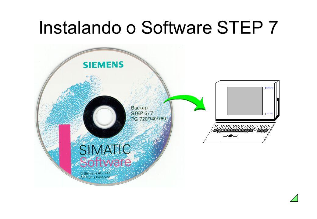 Instalando o Software STEP 7