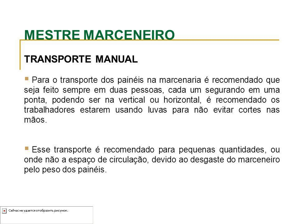 MESTRE MARCENEIRO TRANSPORTE MANUAL