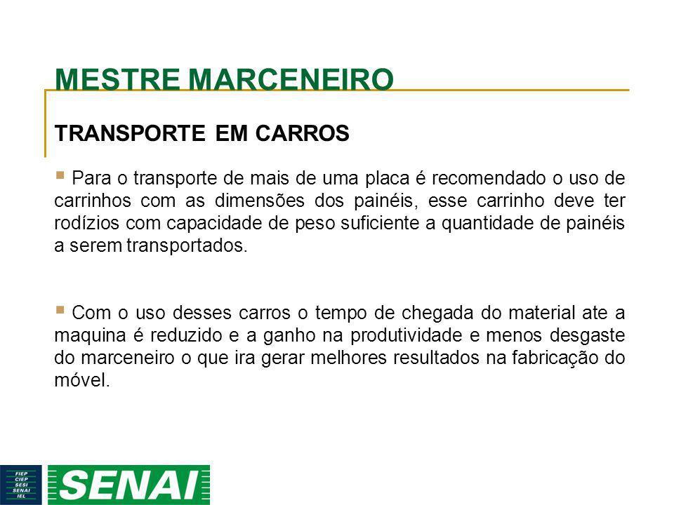 MESTRE MARCENEIRO TRANSPORTE EM CARROS