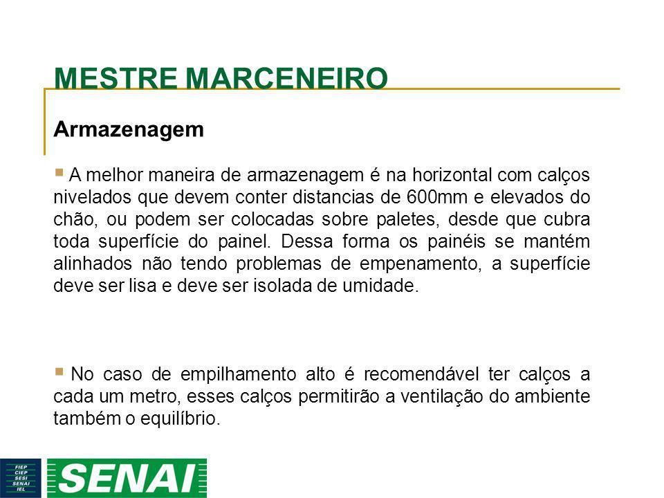 MESTRE MARCENEIRO Armazenagem