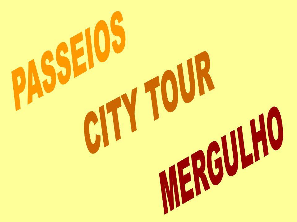 PASSEIOS CITY TOUR MERGULHO